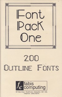 Font Pack One