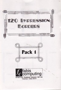 120 Impression Borders - Pack 1