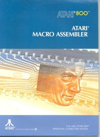 Atari 800 Macro Assembler and Program-text Editor