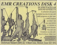 EMR Creations Disk 4 - Sound Affects