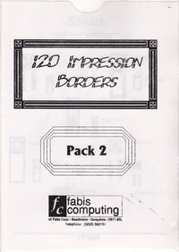120 Impression Borders - Pack 2