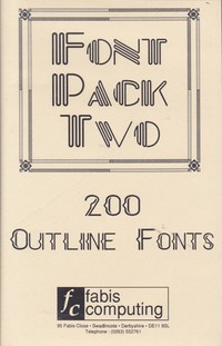 Font Pack Two