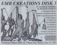 EMR Creations Disk 3 - Animal & Human