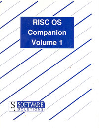 RISC OC Companion Volume 1