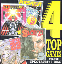4 Top Games for the Spectrum +3
