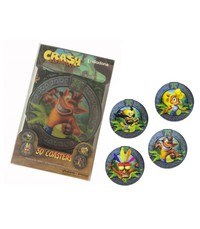Crash Bandicoot 3D Coaster Set