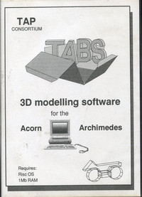 TABS 3d Modelling Software