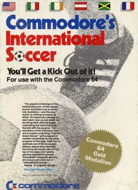 Commodore's International Soccer
