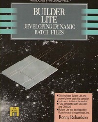 Builder Lite : Developing Dynamic Batch Files