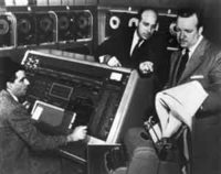The first UNIVAC was delivered