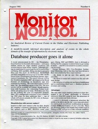 Monitor August 1981 Number 6