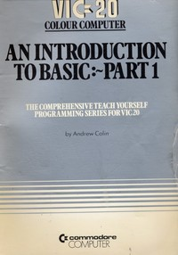 An Introduction to BASIC: Part 1
