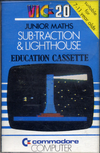 Junior Maths Subtraction & Lighthouse Education Cassette