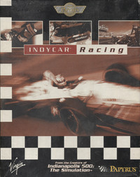 Indycar Racing (Alternate Box art)
