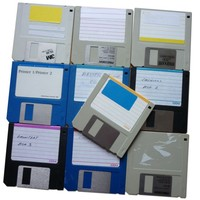 "3.5"" DD Floppy Disks - DSDD (Pack of 10)"