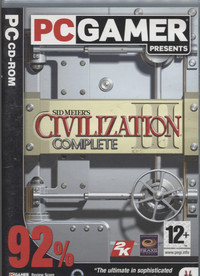 Sid Meier's Civilization III Complete (PC Gamer)