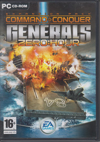 Command & Conquer Generals: Zero Hour Expansion