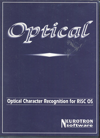 Optical Character Recognition for the RISC OS