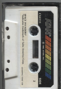 Space Invaders (Cassette)
