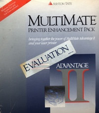 MultiMate Advantage II - Printer Enhancement Pack