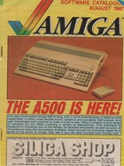 Amiga Software catalogue August 1987