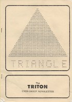 Transam Triton Newsletter Vol 3 November 1979