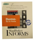 WordPerfect InForms Version 1.0