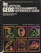 Official GEOS Programmer's Reference Guide