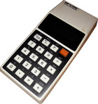 Sinclair Oxford Scientific White Calculator