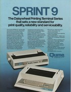 Qume Sprint 9 Daisywheel Printer