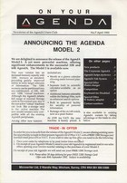 AgendA Newsletter No. 7 April 1992