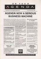 AgendA Newsletter No. 4 December 1990