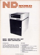 Nord ND574/558 Mbytes Disk Units