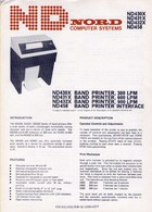 Nord ND430 series Band Printers