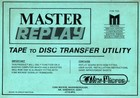 Vine Micros - Master Replay - Tape to Disc Transfer Utility