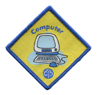 Brownie Guide Computer Badge 2003+