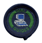 Girl Guide Computer Interest Badge 1980-2002