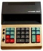 Citizen 121F Desktop Electronic Calculator