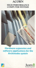 Acorn - Hardware expansion and software applications for the Archimedes system