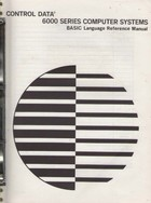 BASIC language reference manual