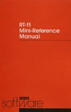 RT-11 Mini-Reference Manual