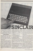 Sinclair ZX81 - Review