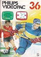 Philips Videopac 36 - Electronic Soccer & Electronic Ice Hockey