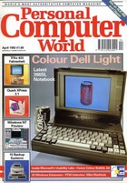 Personal Computer World - April 1992