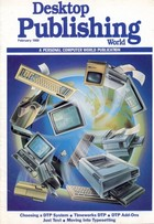Personal Computer World - February 1988 Desktop Publishing Supplement