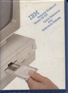 IBM Personal System/2 Model 55SX Quick Reference Guide and Reference Diskette