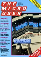 The Micro User - January 1989 - Vol 6 No 11