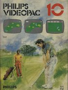 Philips Videopac 10 - Golf
