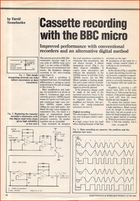 Article - Cassette Recording with the BBC Micro