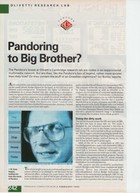 Pandora: Pandoring To Big Brother